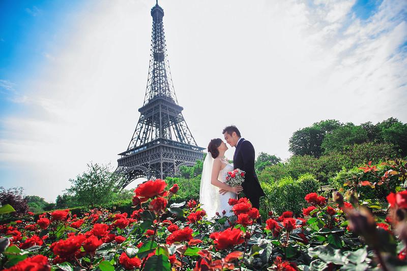 paris rose garden