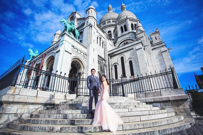 montmartre pre wedding