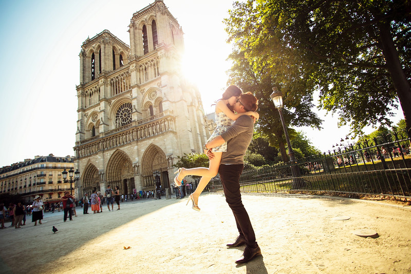 paris notre dame pre wedding