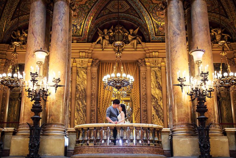 palais garnier pre wedding