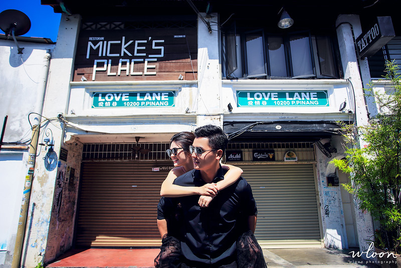penang love lane shooting