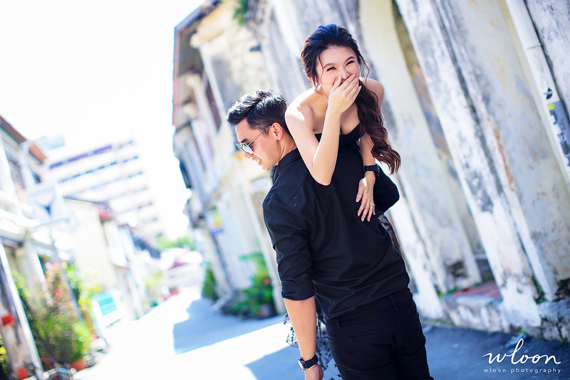 penang casual pre wedding