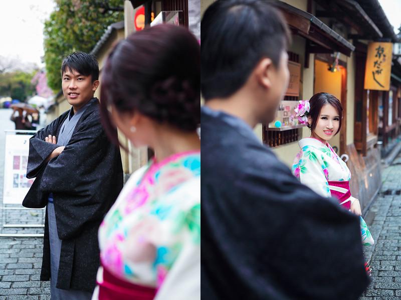 kimono pre wedding