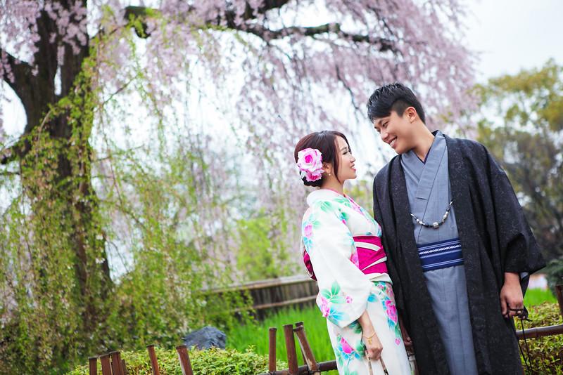 kyoto maruyama park pre wedding
