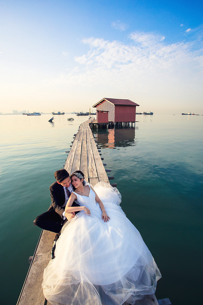 penang pre wedding shooting