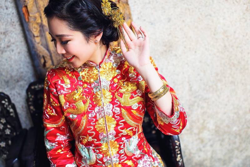 bride in chinese kua
