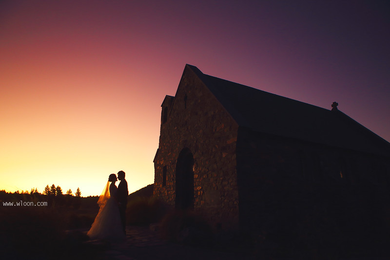 lake tekapo pre wedding
