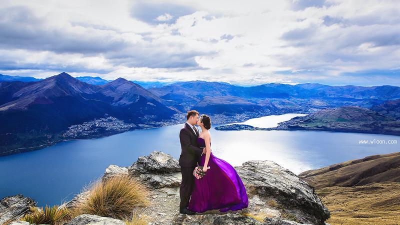 new zealand pre wedding