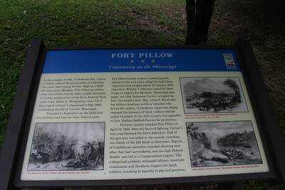 Ft. Pillow State Historic Park, Henning, Lauderdale County, Tennessee -- Overlooking the Mississippi River