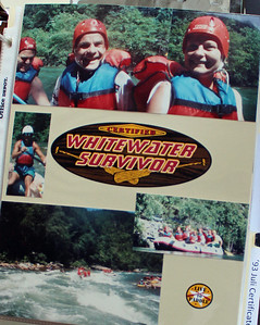 SCRAPBOOK PAGE: Sunday School Class on the River!
