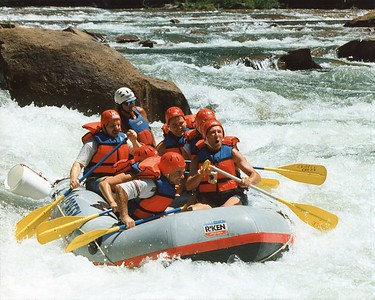 SS Class Whitewater Rafting