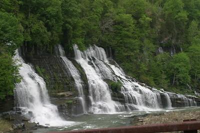 Rock Island Waterfall