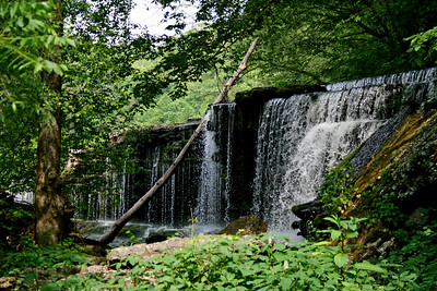 Old Stone Fort Waterfall