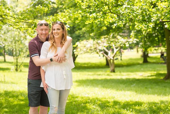 Pre-wedding Portrait Photography: Brampton Park, Stoke on Trent