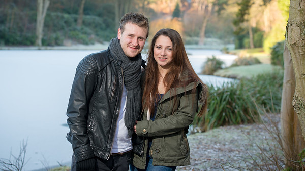 Jodie and David - Pre-wedding photography, The Rambler's Retreat, Alton, Staffordshire.