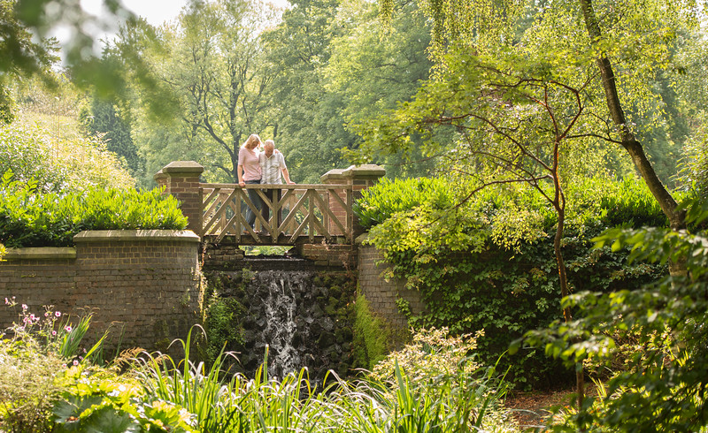 Sam and Paul's pre-wedding  photography in Longton Park,