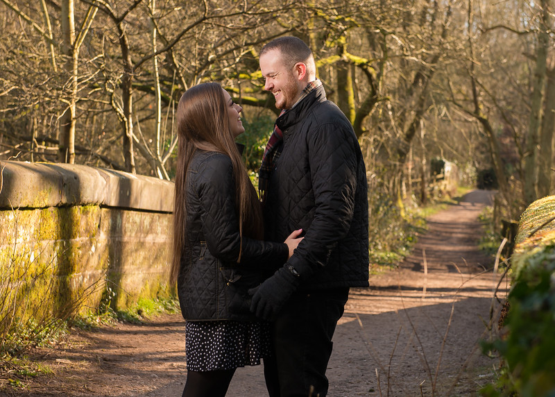 Staffordshire pre-wedding photography