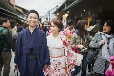 Pre-wedding | 大緯 + 欣潔 in Kyoto, Japan