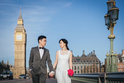 Pre-wedding | Andrew + Liza in London