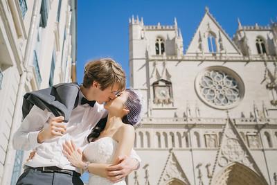 Pre-wedding | Antonin + Phoebe in Lyon, France