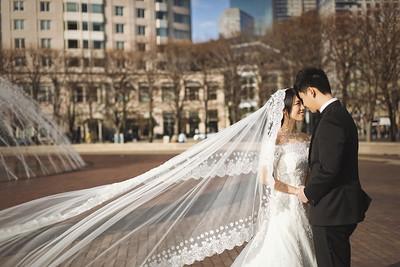 Pre-wedding | Lion + Joanna in Boston, U.S.A.