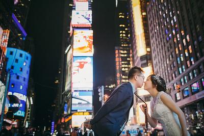 Pre-wedding | Mian Wang + Jie Tang in New York, U.S.A.