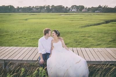 Pre-wedding | Ross + Anna in Boston, U.S.A., 2015