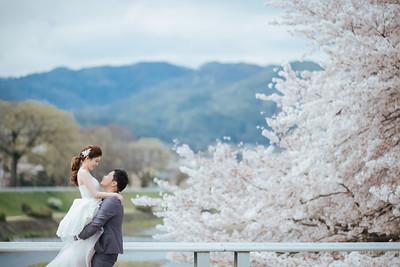 Pre-wedding | Sheryl + Mulder  in Kyoto
