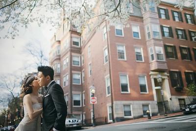Pre-wedding | Stan + Michelle in Boston, U.S.A.
