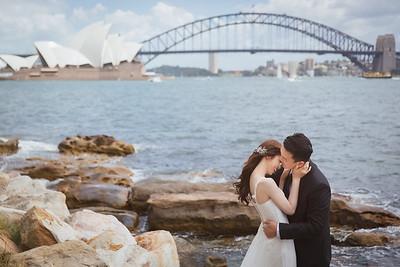 Pre-wedding | Weber + Candy in Sydney