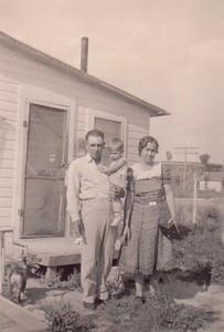 Frank & family