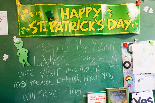 PreK St Patricks Day Celebrations