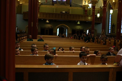 PreK and K Mass