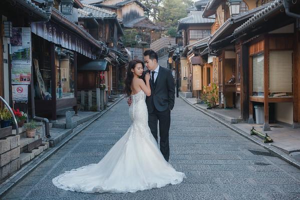 Peishan Kyoto pre-wedding
