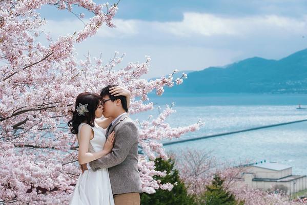 Ting Hokkaido Pre-wedding