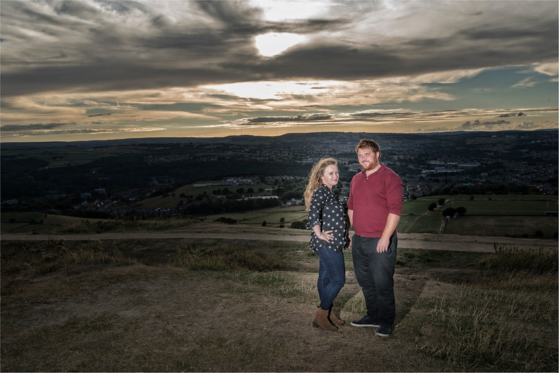0061 - Castle Hill Photography - Engagement Photograpy at Castle Hill Huddersfield -