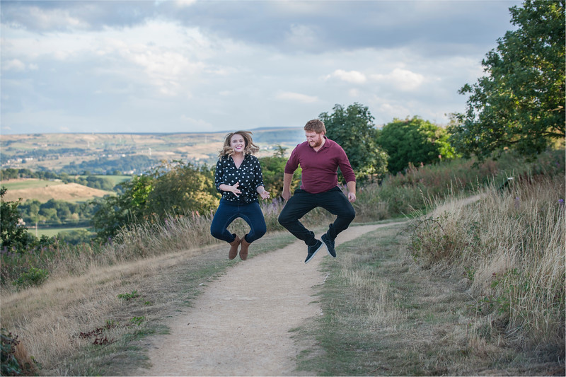 0039 - Castle Hill Photography - Engagement Photograpy at Castle Hill Huddersfield -