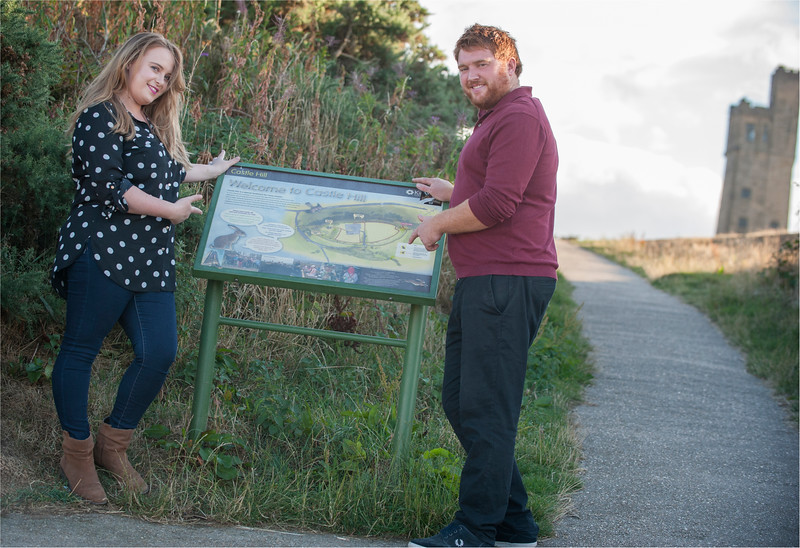 0032 - Castle Hill Photography - Engagement Photograpy at Castle Hill Huddersfield -