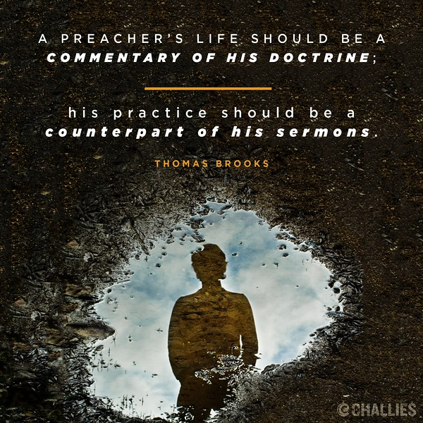 Thomas Brooks on a Preacher's Life