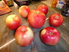 Sweet Tango organic apples... the skin has a rose aroma....