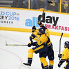 Predators vs. Sharks Playoff game on Thursday  May 5, 2016 in Nashville, Tenn.  Photos by Donn Jones Photography