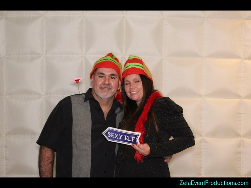 Photo Booth pictures from Preferred Freezer Services Corporate Holiday Party