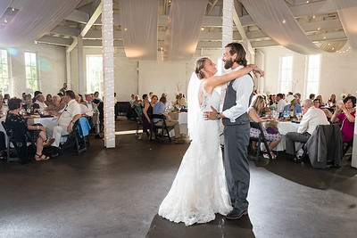 Julie & Derek at the Red Mile's Round Barn 6.17.17.