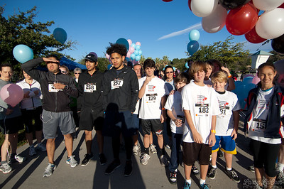 Pregnancy Resource Center of the San Fernando Valley's Run for Life Event at Hansen Dam Aquatic Center