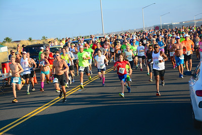 677 people gathered to participate in the 9th Annual Run for Hops