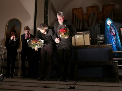 @RobAng 11.3.18, Kriche Oberegg: Premiere Passionsspiel Himmel + Höll