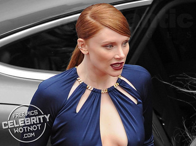 Bryce Dallas Howard In A Revealing Keyhole Dress At Premiere, LA