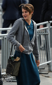 Shailene Woodley Sticks Out Tongue At Awards Ceremony, LA