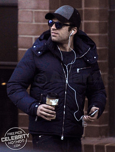 """Bucky� Sebastian Stan Coffe Break, Utah"