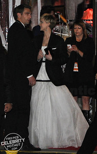 EXC: Nicholas Hoult Gives Jacket To Then Girlfriend Jennifer Lawrence To Keep Her Warm!
